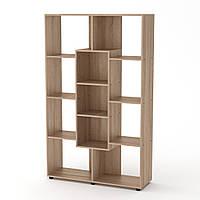 Шкаф книжный КШ-4 дуб сонома  (110х35х174 см)