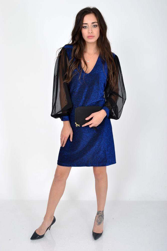 Платье цвет Электрик размер 38