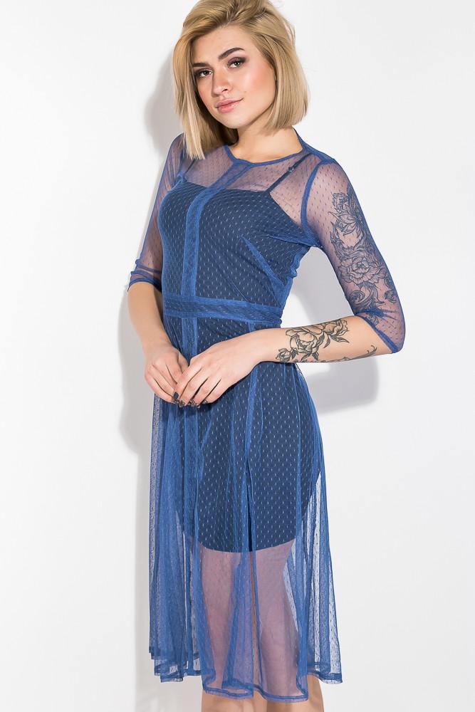 Платье женское цвет Синий