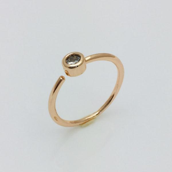 Кольцо женское Одри, размер 13, 15, 16, 17