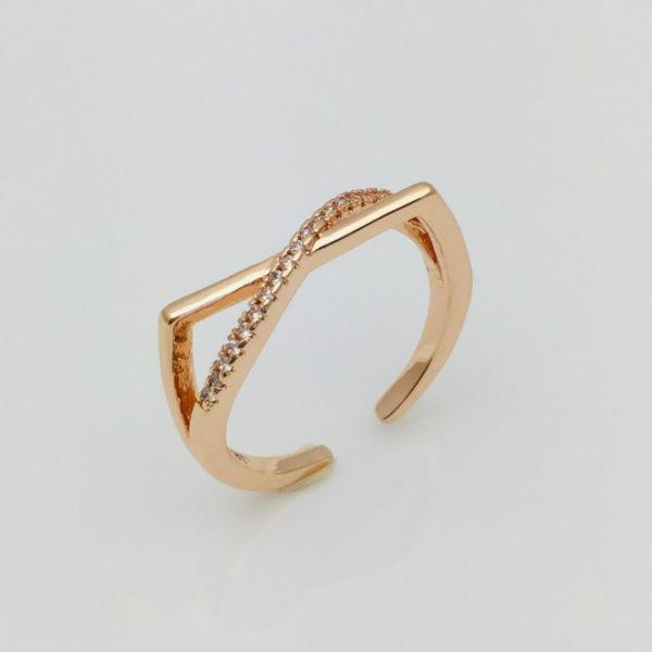 Кольцо женское Критси, размер 15, 16, 17, 18