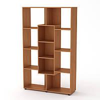 Шкаф книжный КШ-4 ольха  (110х35х174 см)