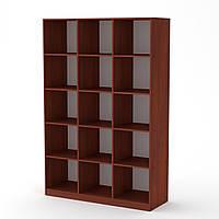 Шкаф книжный КШ-3 яблоня  (130х45х195 см)