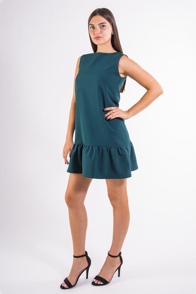 Платье  цвет Зеленый