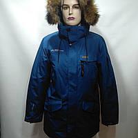 Куртка мужская зимняя в стиле Columbia /  р. 52, 54
