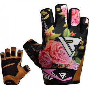 Перчатки для фитнеса женские RDX F24 Black M
