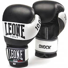 Боксерські рукавички Leone Shock Black 14 ун.