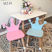 Детский деревянный стульчик для Принцессы