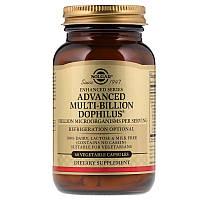 """Комплекс пробиотиков, SOLGAR """"Advanced Multi-Billion Dophilus"""" (60 капсул)"""
