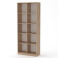 Шкаф книжный КШ-2 дуб сонома  (84х36х206 см)