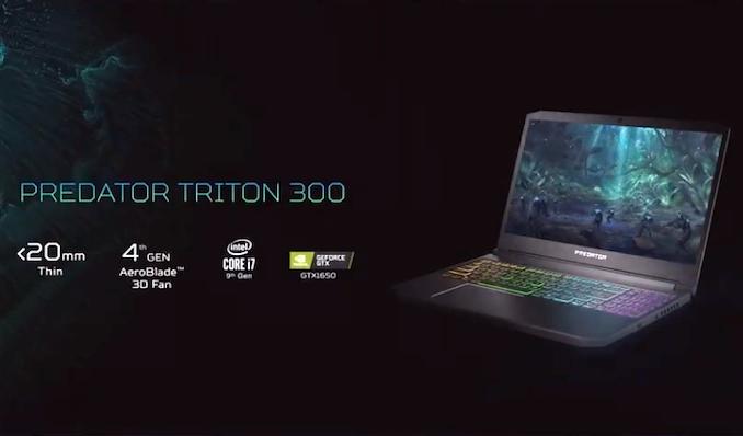 Ноутбук Acer Predator Triton 300 PT315-51 15.6FHD IPS/Intel i5-9300H/8/256F/NVD1650-4/Lin/Black, фото 2