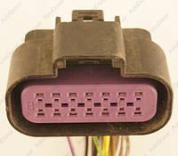 Разъем электрический 14-и контактный (46-28) б/у
