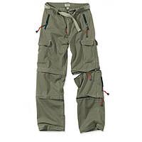 Брюки-трансформеры Surplus Trekking Trousers OD  XL Хаки 05-3595-01-XL, КОД: 275288