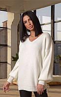 Свободный женский свитер  ЛЧ 017В/01, фото 1