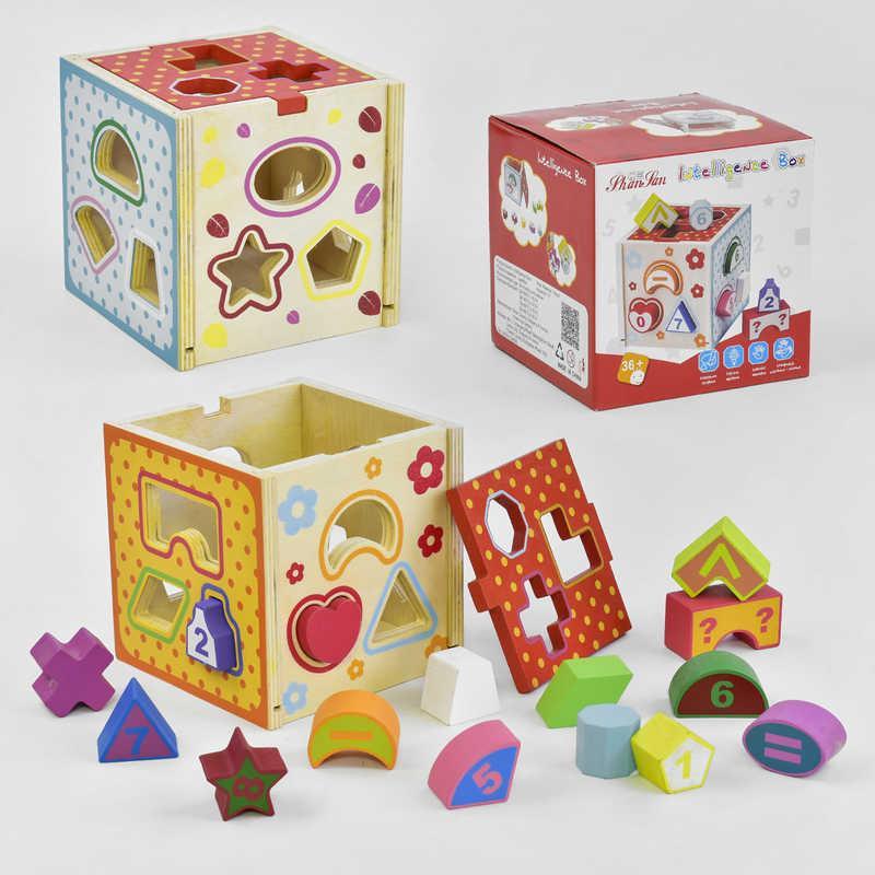 Деревянная игра Куб-Сортер С 35902 48 - 182110