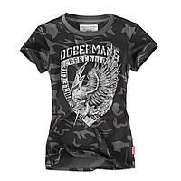 Футболка женская Dobermans Aggressive L Темно-серый TSD164CF-L, КОД: 690819