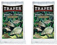 Прикормка зимняя Traper серия Zimowy Fish Mix  0.75кг.