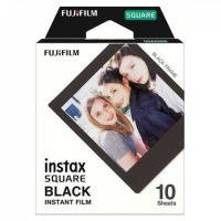 Кассеты FUJI SQUARE film Black Frame Instax glossy