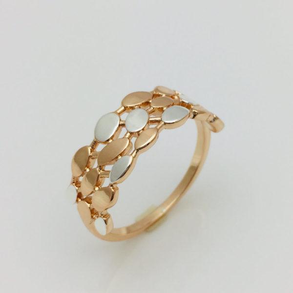 Кольцо женское Монетка, размер 17, 18, 19