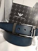 Ремень Armani 4см кожа + подарок, ремни armani кожа, кожаные ремни Армани, ремни армани реплика, ремни Армани, фото 1