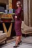 Женское ангоровое платье-миди на запах (3858-3859-3864-3876 svt), фото 6