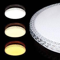 Світильник світлодіодний Biom SMART SML-R08-80 3000-6000K 80Вт з д/к, фото 3