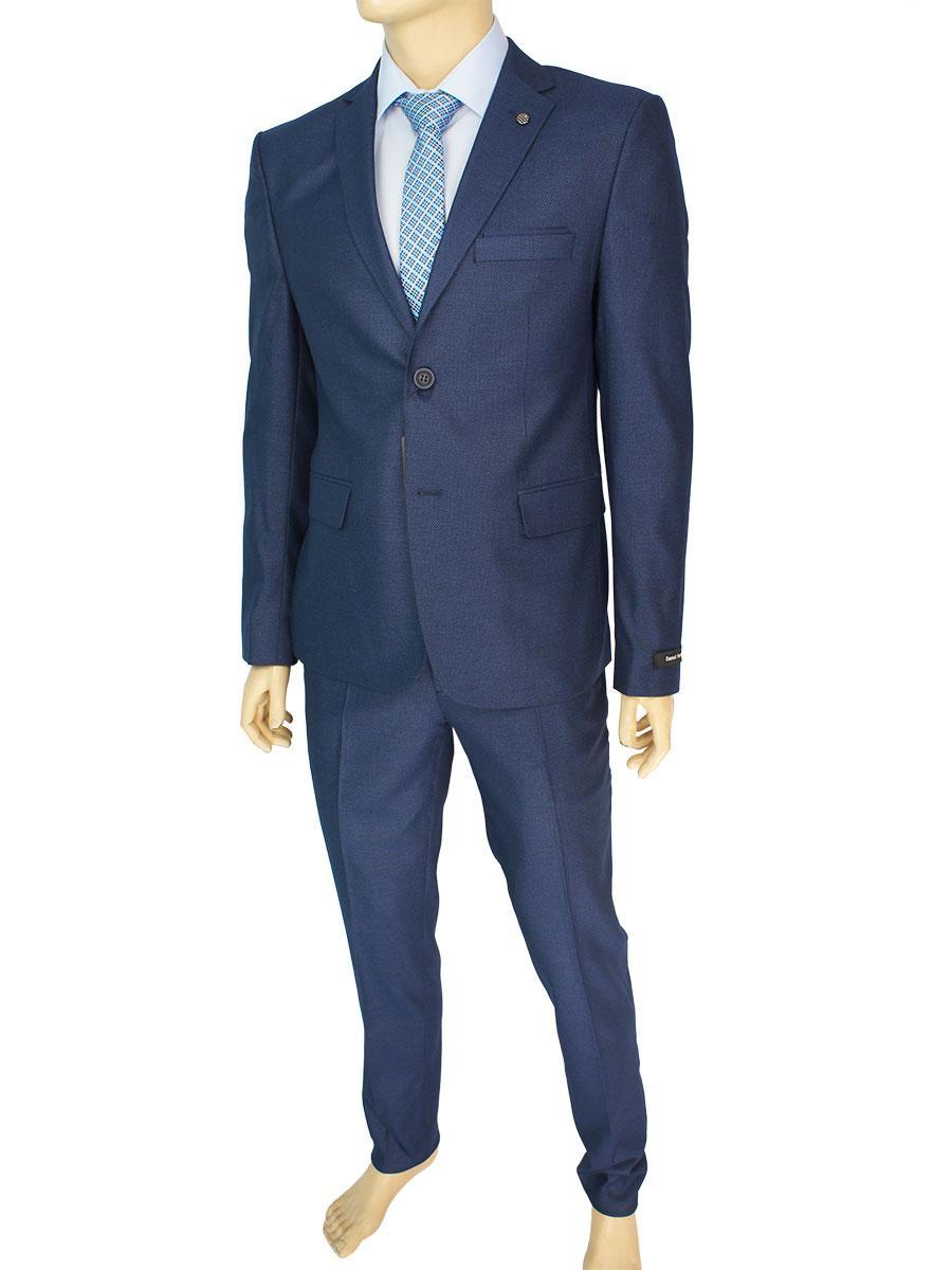 Классический темно-синий мужской костюм Daniel Perry C.476 C:5