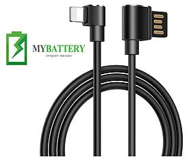 USB кабель Hoco U37 Long Roam iPhone (600mm), черный