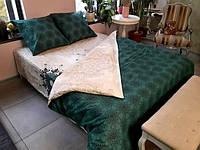 Постельное белье Luxyart Дуэт 32, размер евро, сатин (LН-003)
