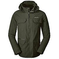 Куртка Eddie Bauer Mens Atlas Stretch Hooded Jacket Dk Loden S Темно-зеленый 0049DKL-S, КОД: 260696