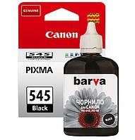 Чернила для картриджа Canon PG-545 (чёрные), водорастворимые (90 мл)