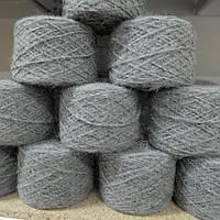 Пряжа альпака FASHION MILL  , серый 100