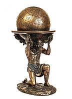 Подарункова статуетка Veronese Атлант 76604A4, символ витривалості