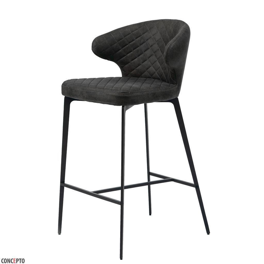 Полубарный стул KEEN (Кин) нефтяной серый в ткани  от Concepto