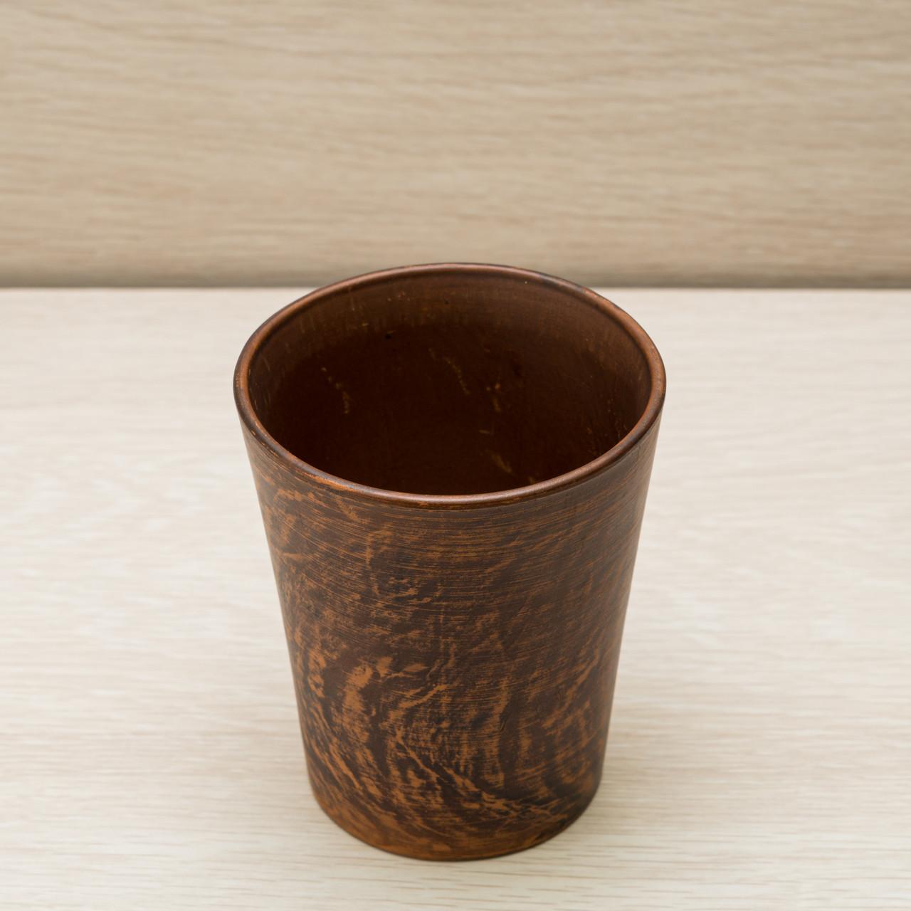Склянку з червоної глини Циліндр 0,35 л