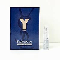 YVES SAINT LAURENT Y Live Intense (Ив Сен Лоран У Лив Интенс) туалетная вода - 1.2ml  (пробник)