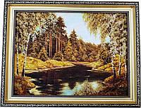 Картина із бурштину Природа (30 x 40 см) BK0001