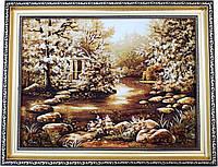 Картина із бурштину Природа (30 x 40 см) BK0004