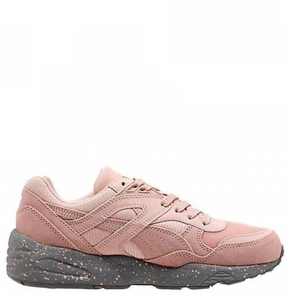 Оригинальные кроссовки женские Puma Winterized R698 Coral Cloud Pink