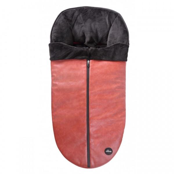 Зимний конверт для коляски Mima Зимний конверт для коляски Mima Sicilian Red