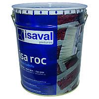 Лак для камня Иза-Рок 16л ISAVAL фасадный гидроизоляционный «мокрый эффект», фото 1