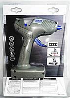 Пистолет для силиконового клея S 609 220V + батарейки