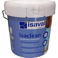 Изаклин - особливо стійка фарба до плям і забруднень, без запаху ISAVAL 4л до 48м2
