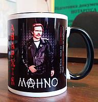 "Чашка патріотична ""Анархія - Махно"". Чашка-сувенір, на подарок. Друк на чашках"