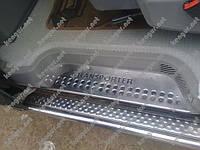 Хром Накладки на дверные пороги (нерж.) Volkswagen T-4, фото 1