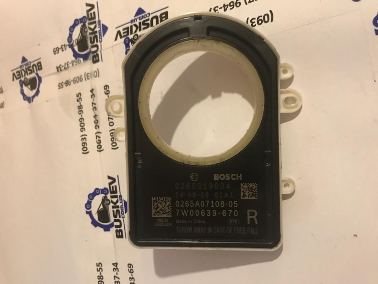 Датчик угла поворота руля Renault Master с 2010 год 0265019034