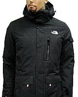 Мужская зимняя удлиненная курта-парка The North Face