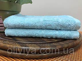 Полотенце для рук (бірюзове), фото 3