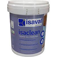 Изаклин - особливо стійка фарба до плям і забруднень, без запаху ISAVAL 1л до 12м2