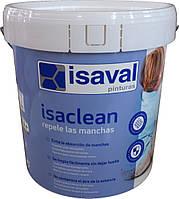 Изаклин - особливо стійка фарба до плям і забруднень, без запаху ISAVAL 12л до 140м2